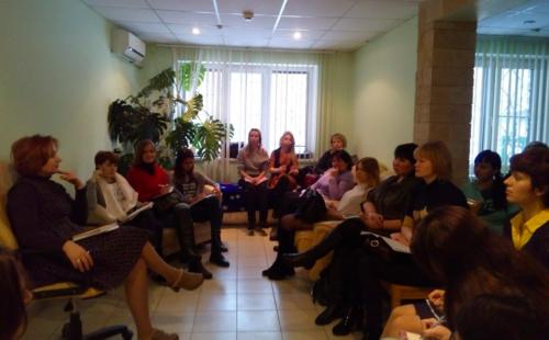 Студенты- психологи на практике в МЦ «Линия жизни»